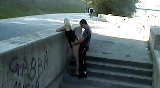 Public sex on street
