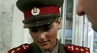 KGB Military Girl Fucks Recruit ..