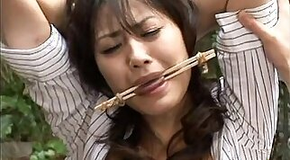Petite Asian fucks an ailing masseur in her bdsm session