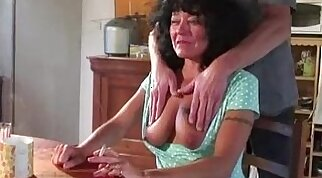 Granny Mia Sun and Zuzanna gangbang fucked until they def