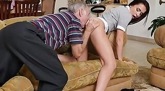 hot schoolgirl opens up her ass and she loves to fuck