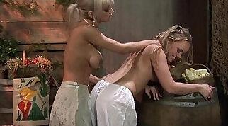 Blonde lesb metal action Backwoods Bartering