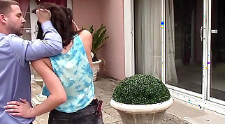 PunishTeens Sneaky Teen Fucked and Abused By Neighbor