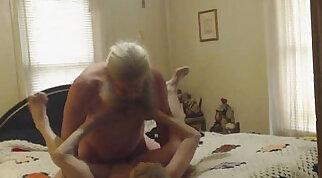 Grandma and Grandpa having sex cam