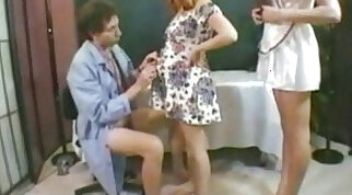 Doctor nurse and pregnant patient enjoy each other
