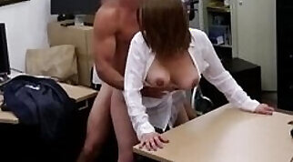 Busty Beauty Gets Fucked A Strangers Pussy