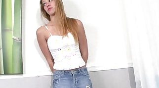 Blonde Left Behind for Step Brother Scandal - Petite Collection