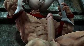 Foxy 3D babe getting fucked hard by The Juggernautnoutvsdumino high