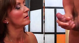 Coed BBW Milf Fucked Hard And Taking A Facial