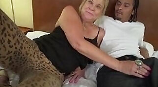Cute black granny pussy fucked hard by old guy meaty Cock
