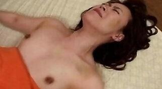 Babes tit body-licking during facial