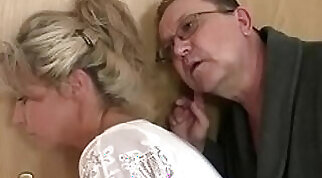 Horny mom and dad fucks their sons GF