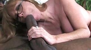 Black guy with big interracial cock